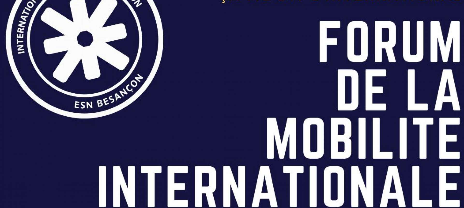 Forum de la mobilité internationale le samedi 1er février 2020 à Besançon