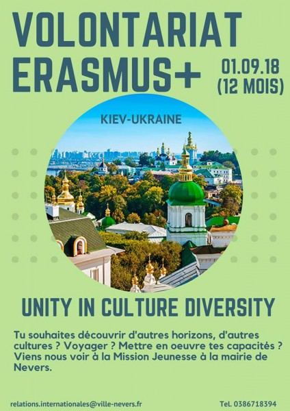 Volontariat en Ukraine :