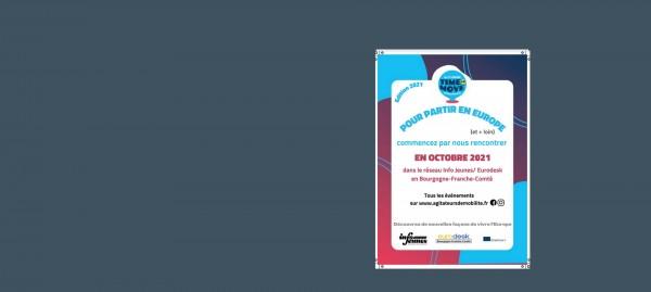 Time to Move édition 2021 en octobre en Bourgogne-Franche-Comté : pour partir en Europe et plus loin